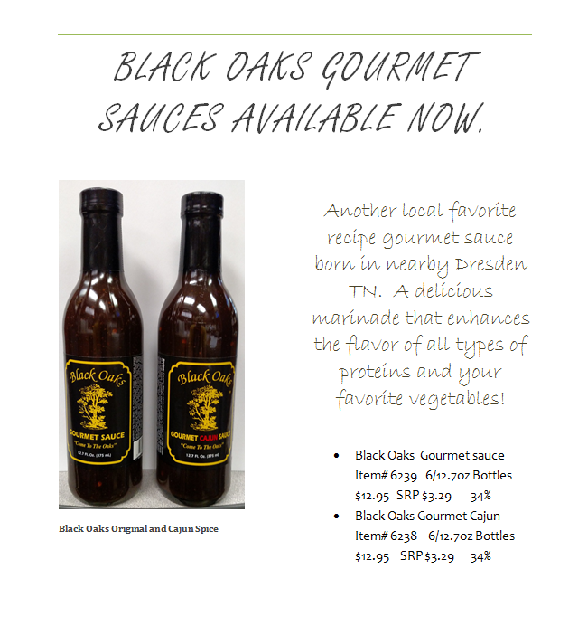 BLACK OAKS GOURMET SAUCES INTRO 7_21_15